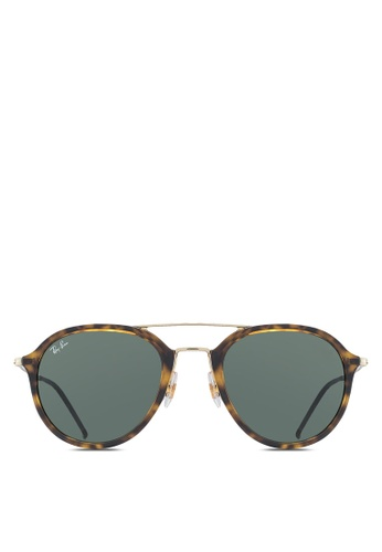 Ray-Ban brown RB4253 Sunglasses RA896GL21UTYMY_1