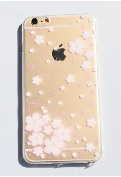 Flowers Soft Transparent Case for iPhone 6 plus/ 6s plus