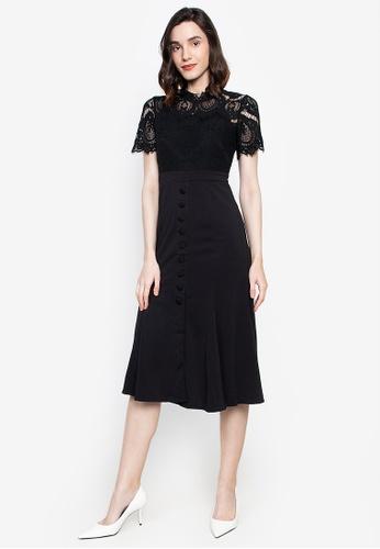 Get Laud black Jeneve Mini Sexy Dress 95D33AAA0729C7GS_1