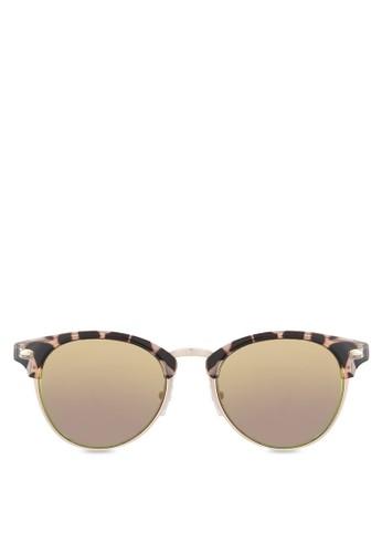 Flintoft 豹紋太陽眼鏡,esprit investor relations 飾品配件, 復古框
