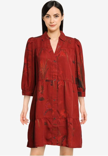 Desigual red Sevilla Dress 73150AAE7A7313GS_1