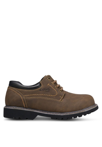 Louis Cuppers brown Casual Outdoor Shoes LO977SH0RKC2MY_1