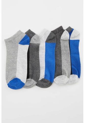 DeFacto multi Man 5-pieces Low Cut Socks 9429FAACFA7AFDGS_1