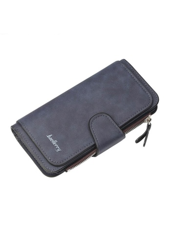 Baellerry blue Trifold Long Wallet 09FF2ACA3BED2CGS_1