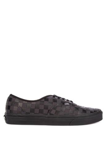 Vans black High Density Authentic Sneakers 80D01SH150A0EDGS_1