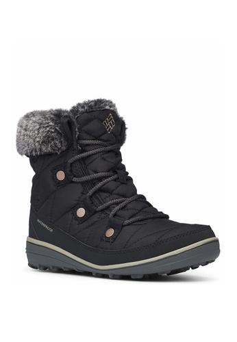Columbia black Women's Heavenly Shorty Omni Heat Shoes 1564ASH940049DGS_1