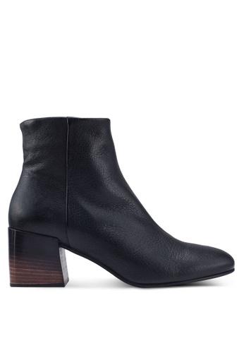 Marie Claire black Block Heels Boots 02D6DSH2C336CFGS_1