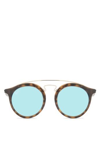 RB4256F 粗圓框太esprit台灣門市陽眼鏡, 飾品配件, 飾品配件