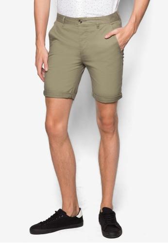 esprit旗艦店彈性休閒短褲, 服飾, 泳褲及沙灘造型