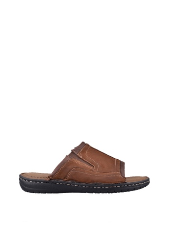 Hush Puppies brown Hush Puppies GOLAN In  Tan 8D6E3SH0E0C322GS_1