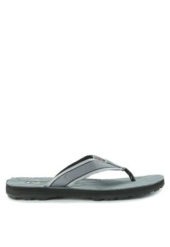 CARVIL grey Sandal Sponge Man Lois B3C24SH161DEABGS_1