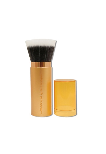Real Techniques orange and gold Real Techniques Bronzer Brush RE615BE16LKPSG_1