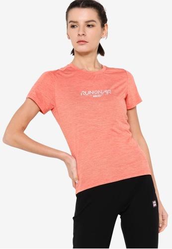 361° pink Running Series Short Sleeve T-shirt FF120AA29E5830GS_1