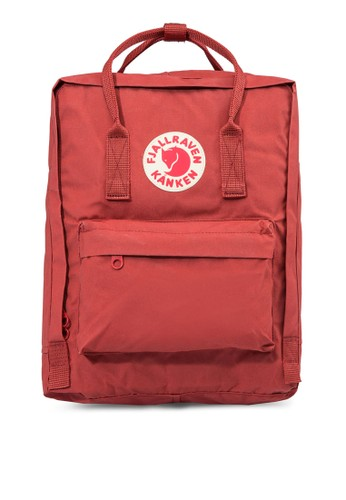 Fjallraven Kanken red Deep Red Kanken Classic Backpack FJ242AC24ZMLID_1