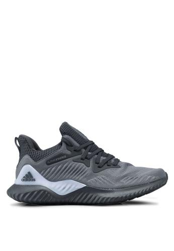 adidas grey adidas alphabounce beyond w AD372SH0SUO5MY_1