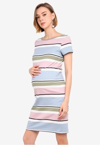 30b3a277b84c9 Buy Mama.licious Maternity Aaliyah Jersey Above Knee Dress Online on ZALORA  Singapore