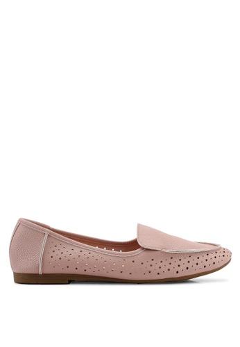 BETSY 粉紅色 紫色 平底鞋 2BFEFSHC8CE087GS_1