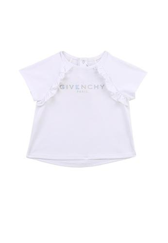 GIVENCHY KIDS white GIVENCHY BABY GIRLS T-SHIRT A09F9KA2E21199GS_1