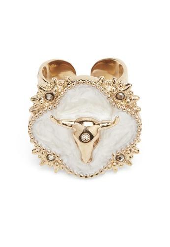 bc754b87 Buy HIPANEMA Ring Kalisha gold adjustable Online on ZALORA Singapore