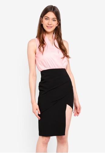 Megane pink Essential Tangela Dress 7AB85AA6213AE6GS_1
