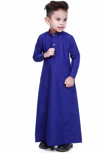 Amar Amran blue Jubah Aulad For Kids AM362KA00TOHMY_1