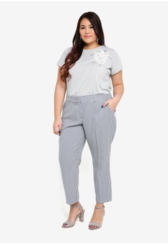 d1b9144b2ce 10% OFF Dorothy Perkins Navy Ankle Grazer Trousers RM 131.15 NOW RM 117.90  Sizes 18 20 22 24