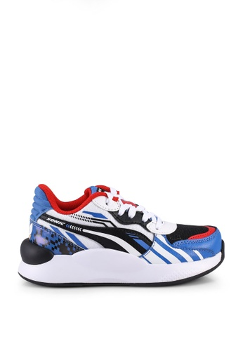 PUMA blue Sega Rs 9.8 Sonic Trainers C7394KS0B5E262GS_1