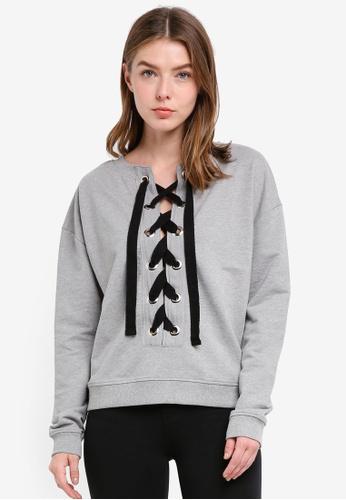 OVS grey Women's Sweatshirt D9C09AAF8FF668GS_1