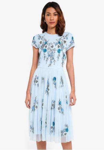 Lace & Beads blue Irina Maxi 6D332AA593B4E6GS_1