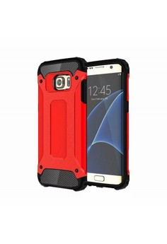 Tech Armor Tough Case for Samsung Galaxy S7 (Red)