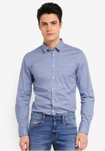 BOSS 藍色 Erum Shirt - Boss Casual B267BAA5DC3782GS_1