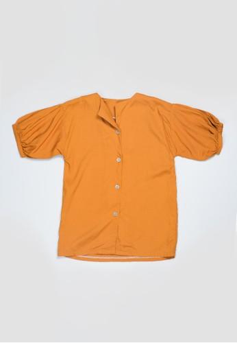 Veyl orange Veylkids Aidy Top Mustard DFFBAKAA00F881GS_1