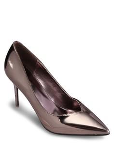 金屬感高跟鞋