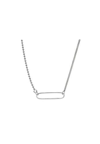LYCKA silver LDR1334 S925 Silver Simple Elegant Necklace F3DAEACDB1DB37GS_1