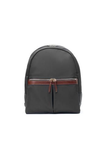Maverick & Co. black Maverick & Co.Ernest Light Nylon Day Backpack- Black 4B85CAC964342BGS_1