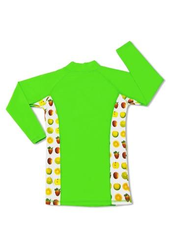 TEEPEETO Kids Anchor UV50 Rash Guard Long Sleeve Top and Pants