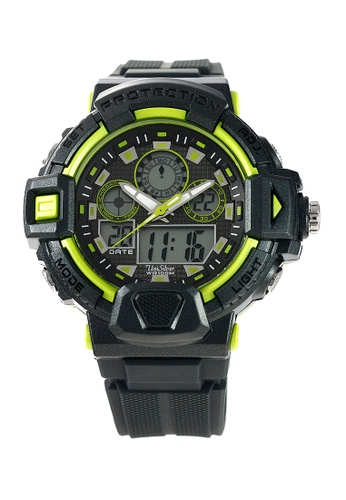 UniSilver TIME grey TechnoPhunk Rubber Watch KW2027-1001 UN802AC54HIVPH_1
