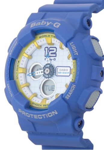 b04b1c8b48f6 Shop Casio Baby-G Watch BA-120-2BDR-BLUE Online on ZALORA Philippines