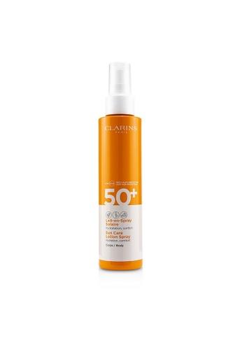CLARINS CLARINS - Sun Care Body Lotion Spray SPF 50 150ml/5oz 35442BE7F22E61GS_1