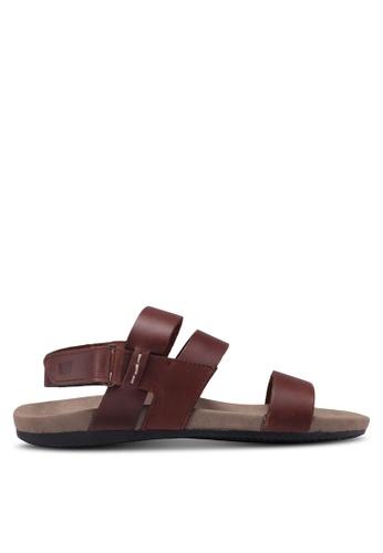 Weinbrenner brown Slide-On Flip Flops A6A4CSH853126CGS_1