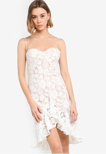 JARLO LONDON beige Fancy Evening Dress 7006EAAF261D54GS_1