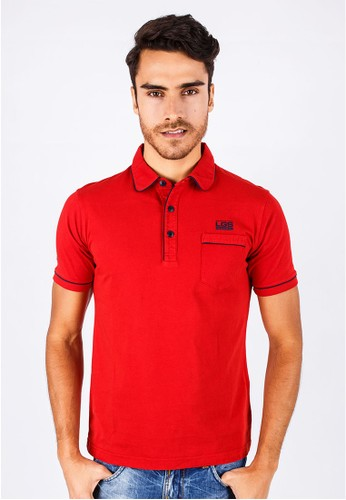 LGS - Slim Fit - Polo Shirt - Red - Basic Polo.