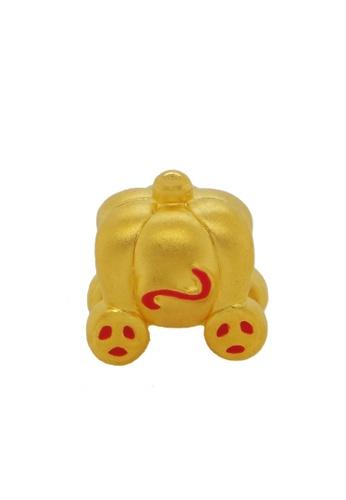 LITZ gold [Free Bracelet] LITZ 999 (24K) Gold Pumpkin Car Charm EPC0713RED 27E25AC47988B7GS_1