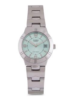 【ZALORA】 Casio LTP-1241D-3ADF 不銹鋼錶
