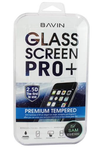 BAVIN white Bavin Tempered Glass Screen Protector for Samsung E5/E500 50193AC06D8F3DGS_1