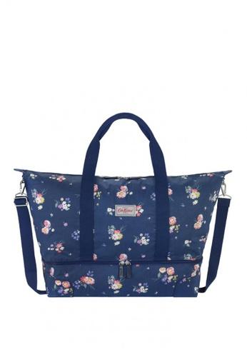 Cath Kidston Blue Busby Bunch Foldaway Double Decker Travel Bag Eb3f6ac02cf339gs 1