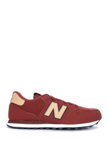 New Balance red GM500 Lifestyle Sneakers FF652SHC209F97GS_1