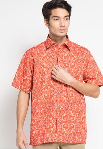 Tootal orange Shirt Short Sleeve TO643AA88CVNID_1