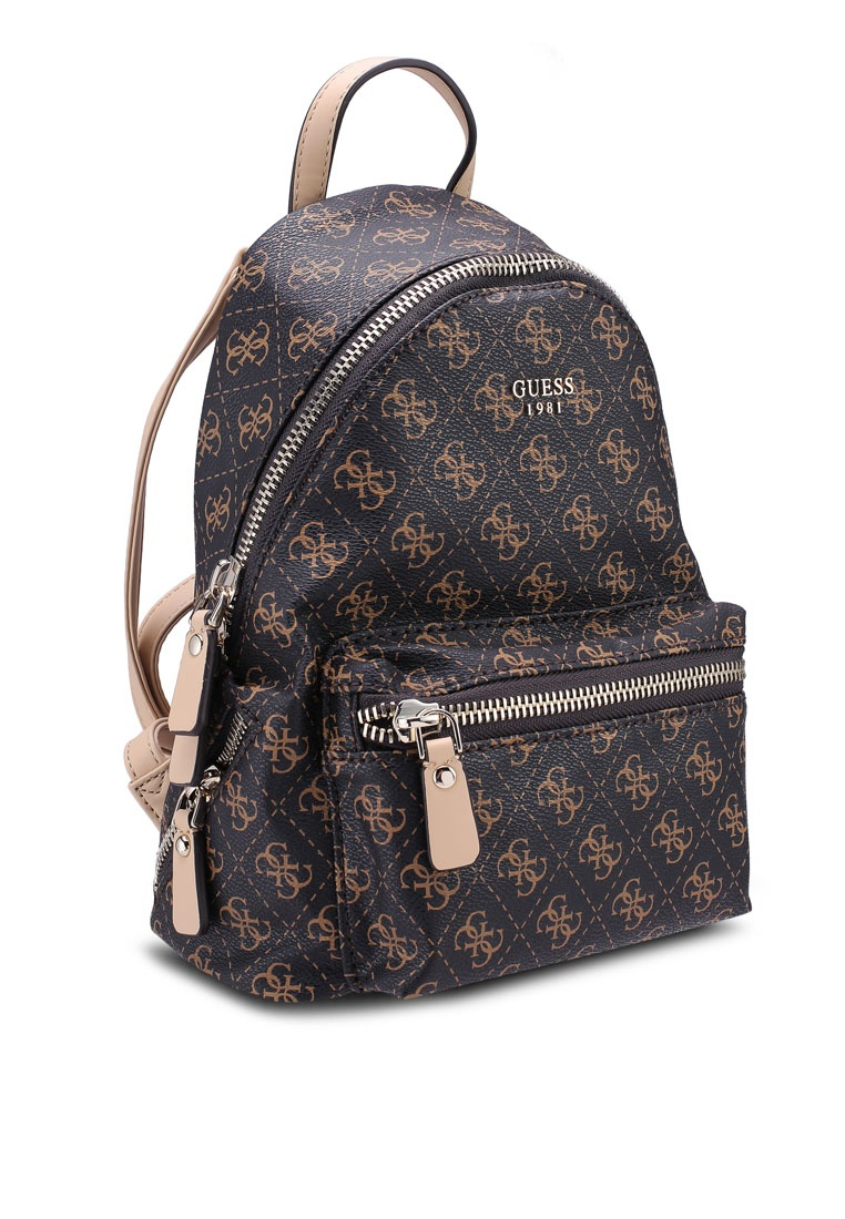 a673a5789e Small Backpack Friday Guess Leeza Black Brown a1xdn1Uq at insert ...