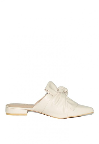 M&G white Donatha Flats by M&G 7E9C9SH14C2AEAGS_1